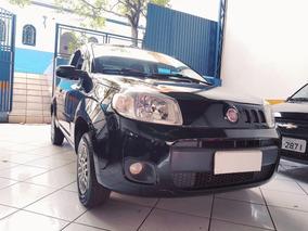 Fiat Uno 1.0 Vivace Flex 3p Vidros E Travas Elétricas