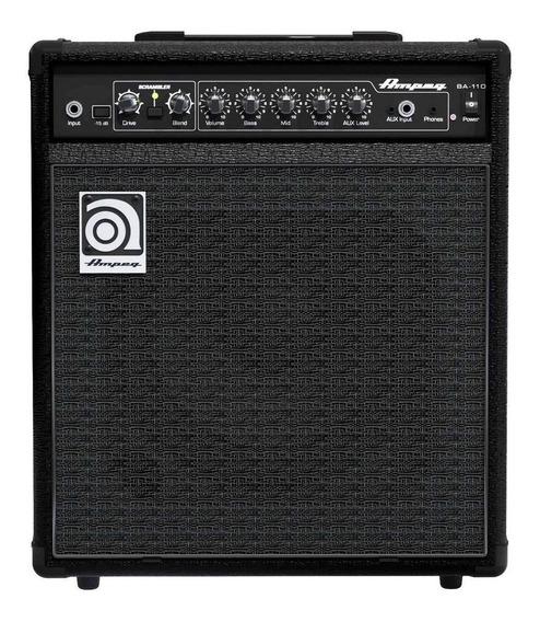 Amplificador Ampeg Bassamp Series BA-110 40W transistor negro 110V