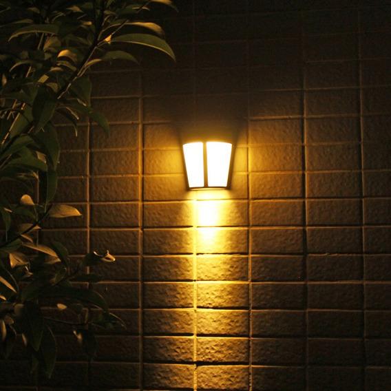 Sensor Energia Para Parede Lampadas Solar 6led Calientes