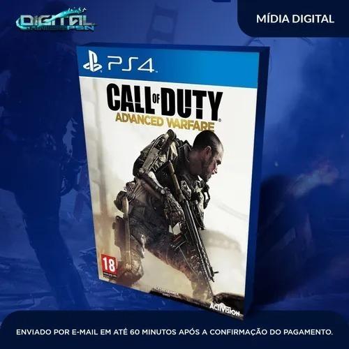 Call Of Duty Advanced Warfare Ps4 Mídia Digital Envio Rápido