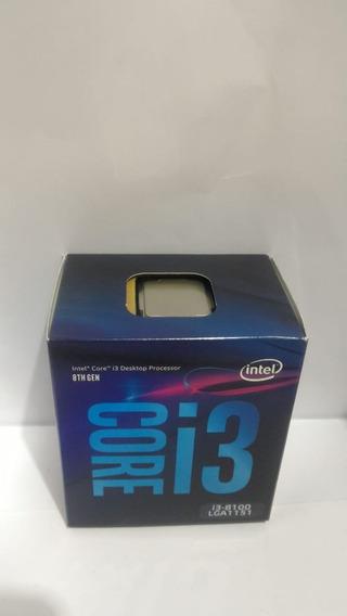 Processador Intel I3 8100