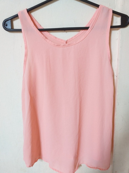Remera / Musculosa Color Rosa