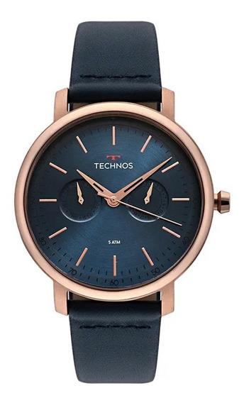 Relógio Technos Masculino Rose 6p25bs/2a