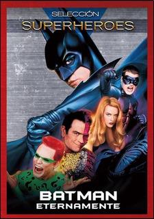 Dvd Batman Eternamente Colección Superheroes Nuevo Sm S1