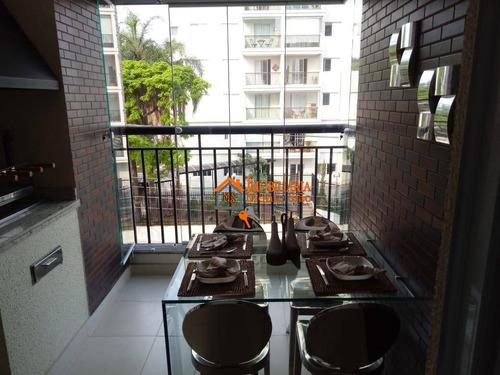 Apartamento À Venda, 61 M² Por R$ 420.000,00 - Jardim Aida - Guarulhos/sp - Ap2472