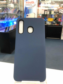 Funda Reforzada Samsung A20 A30 Azul Opaca