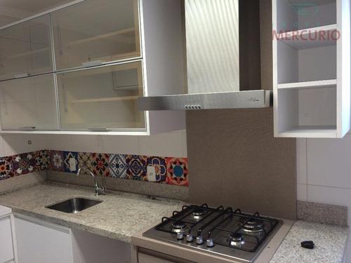 Apartamento Com 3 Dormitórios À Venda, 85 M² Por R$ 420.000,00 - Jardim Estoril - Bauru/sp - Ap1200