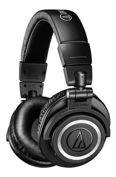 Fone De Ouvido Audio Technica Ath-m50x+ Frete Grátis