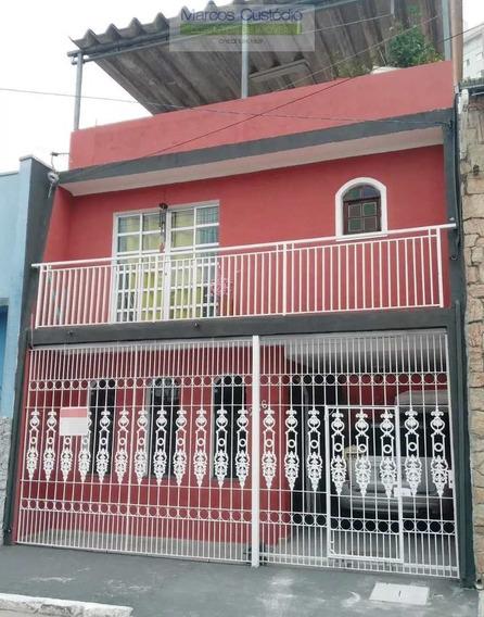 Sobrado Com 3 Dorms, Fundação, São Caetano Do Sul - R$ 430 Mil, Cod: 861 - V861