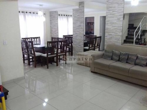 Sobrado Com 3 Dormitórios À Venda, 104 M² Por R$ 730.000,00 - Jardim Borborema - São Bernardo Do Campo/sp - So0125