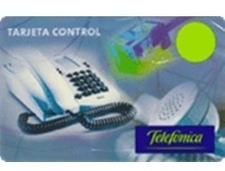 Tarjeta Telefónica Control Pin 100 - Stock Permanente