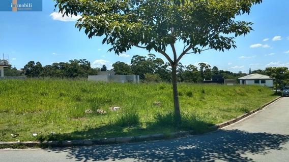 Terreno Plano Com 672,07 Metros Em Condomínio Bem Localizado.. - Rt1574