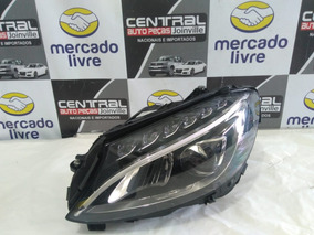 Farol Esquerdo Com Xenon E Led Mercedes C180 2018 Exclusive