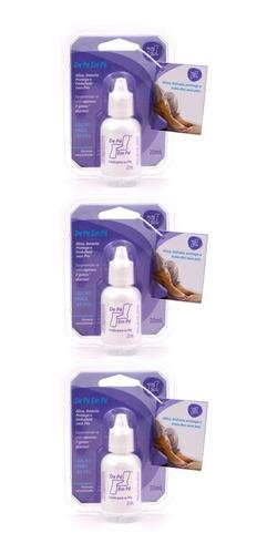 3 Unidades Locao De Pe Em Pe Trata Protege Amacia Os Pes