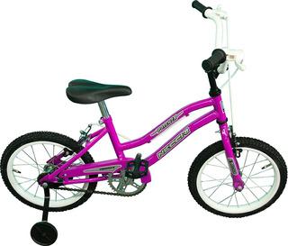 Bicicleta De Nena Playera Rdo 14 Necchi. Incluye Rueditas