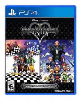 Kingdom Hearts Hd 1.5 + 2.5 Remix Ps4 Nuevo Y Sellado