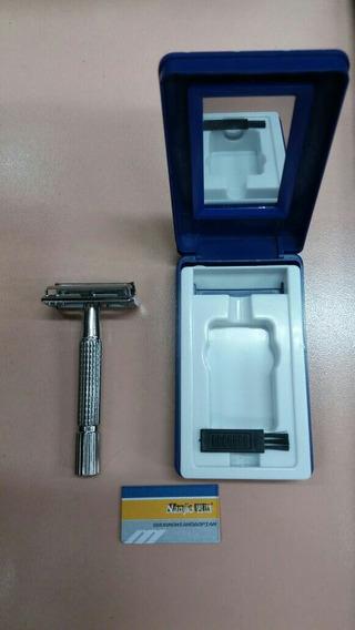 Máquina De Afeitar Metálica Para Hojas Gillette Nueva