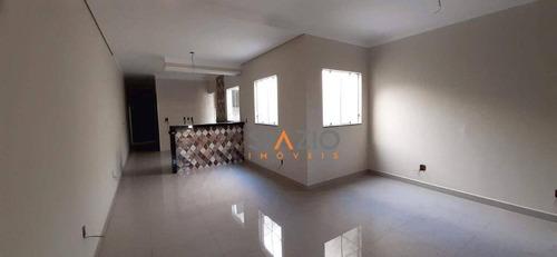 Imagem 1 de 10 de Casa Com 2 Dormitórios À Venda, 110 M² Por R$ 340.000,00 - Jardim Cherveson - Rio Claro/sp - Ca0517