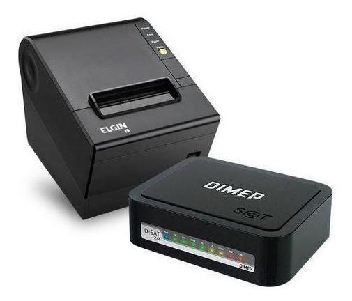 Kit Sat Dimep D Sat 2.0 + Impressora Não Fiscal Elgin I9