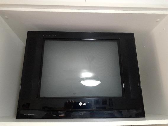 Tv LG 21 Com Conversor Hd E Suporte Parede