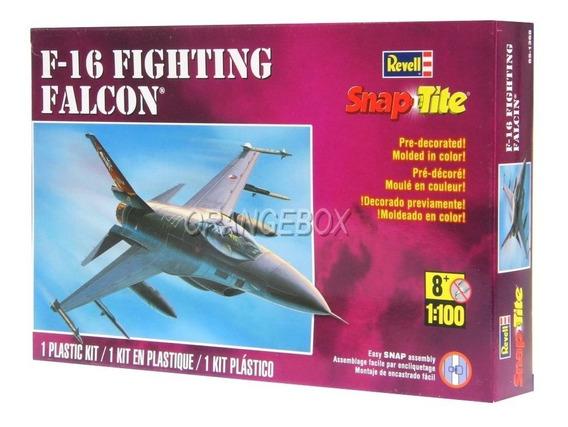 Kit Para Montar Avião Caça F-16 Falcon Revell 1:100