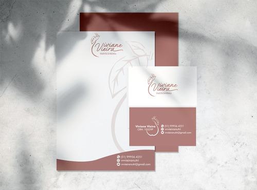 Designer Gráfico Logotipo + Identidade Visual