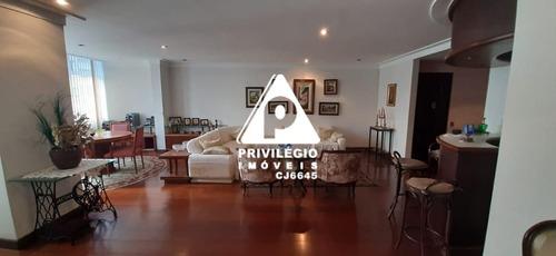 Apartamento À Venda, 4 Quartos, 1 Suíte, 2 Vagas, Copacabana - Rio De Janeiro/rj - 26911