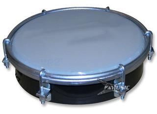 Tamborin 3691 6¨ P/ Percusion Plastico Parche Opaco Envio