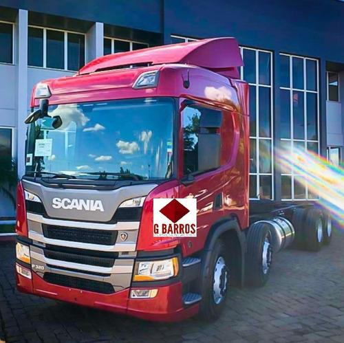 Scania P320 8x2 Aut Completa + Retarder 2021