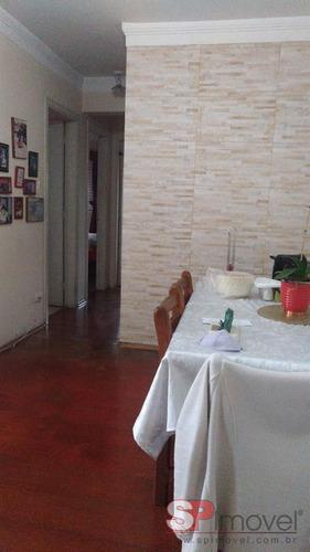 Imagem 1 de 11 de Apartamento Para Venda Com 78 M²   Parque Mandaqui  São Paulo Sp - Ap343666v