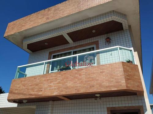 Casa Com 3 Dormitórios À Venda, 148 M² Por R$ 660.000,00 - Estuário - Santos/sp - Ca0017