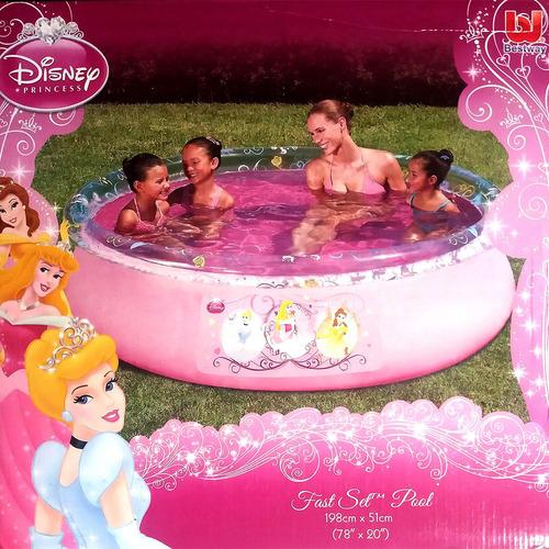 Piscina Inflable 198 X 51 Cm - Disney Princesas