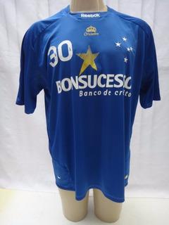Camisa Futebol Do Cruzeiro 2009 # 30 Reebok Bonsucesso Fm44