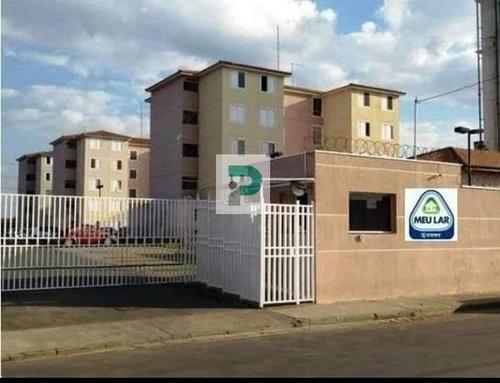 Imagem 1 de 11 de Apartamento Para Venda, Jundiapeba, 2 Dormitórios, 1 Banheiro, 1 Vaga - Ap0368_2-1177928