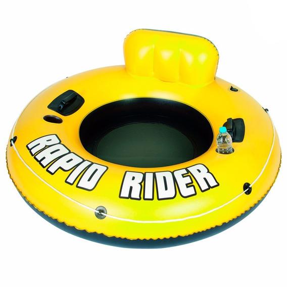 Inflable Asiento Flotador Bestway Circular Rapid Rider 43116