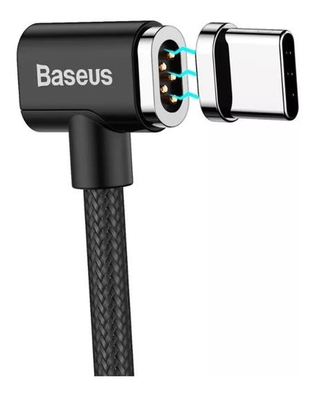 Cabo Type-c Magnético L Baseus 1,5m 4.3a P/ Macbook Pro Nf