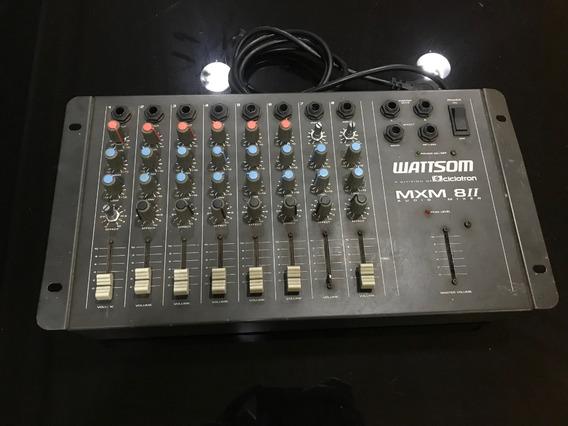 Mesa De Som Ciclotron Wattsom 8 Canais Mxm 8-ii