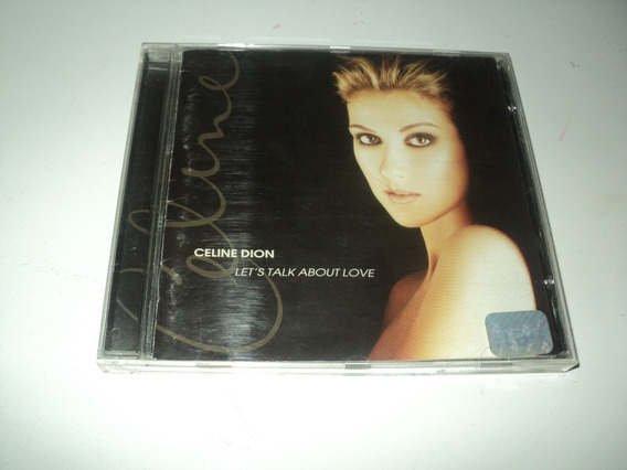 Cd Celine Dion-let´s Talk About Love