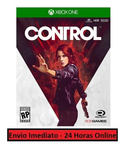 Control Jogo + Todos Conteúdos Extras - Xbox One Midia Digit