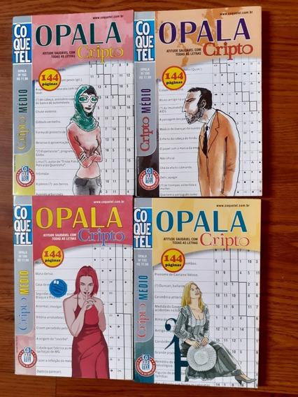 4 Almanaques Coquetel Cripto De 144 Paginas - Ver Foto