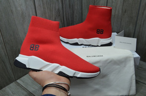 Sneakers Balenciaga Speed Trainer Red