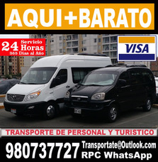Alquiler De Vans Hyundai H1 , Mini Bus Autos Y Camioneta Jac