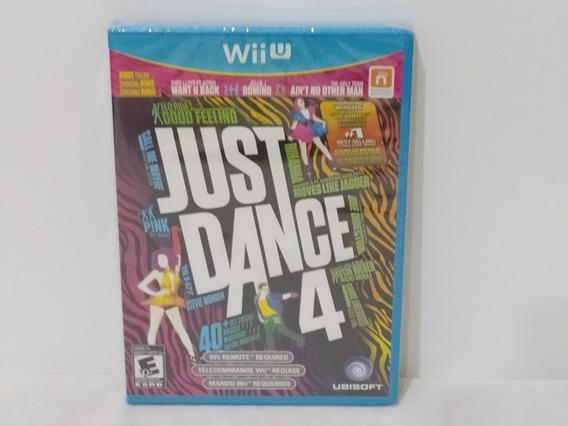 Jogo Wiiu - Just Dance 4 - Midia Física - Lacrado