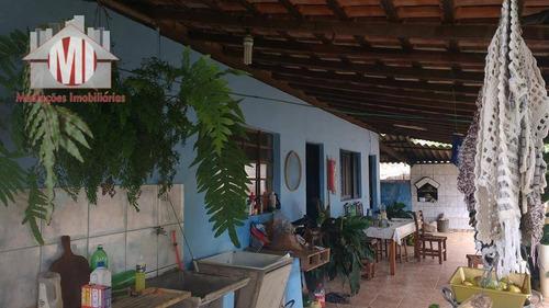 Imagem 1 de 30 de Chácara Com 03 Dormitórios À Venda, 7000 M² Por R$ 450.000 - Zona Rural - Pinhalzinho/sp - Ch0217