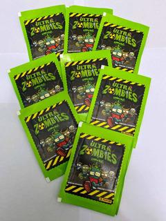 Figuritas Ultra Zombies 2020 Pack Por 25 Sobres Panini Origi