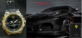 Relógio G-shock Full Metal+perfume-ferrari Black