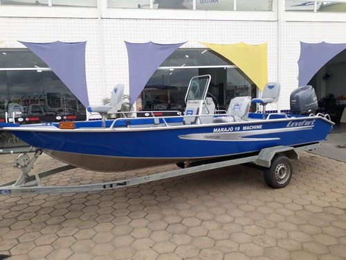 Lancha Marajo 19 Machine Fisharound - Lançamento