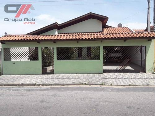Casa Com 3 Dormitórios À Venda, 200 M² Por R$ 550.000,00 - Campos Elíseos - Taubaté/sp - Ca0393