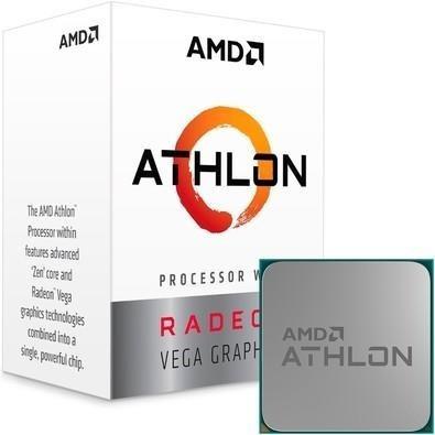 Processador Athlon 200ge Dual Core 5mb 3.2ghz Am4 Yd200gc6fb