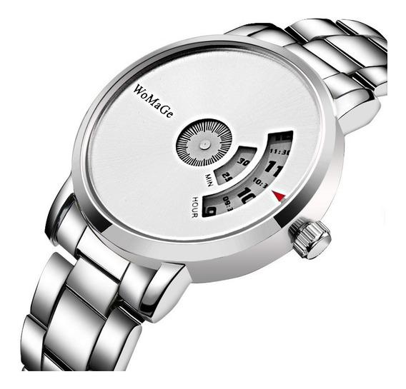 Reloj Pulsera Hombre Acero Inoxidable Envio Internacional